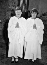 Ahrens Sisters Confirmation Ch. of the Resurrection G'town 1957