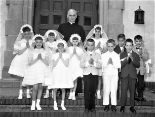 Church of the Ressurection 1st Commumion 1961