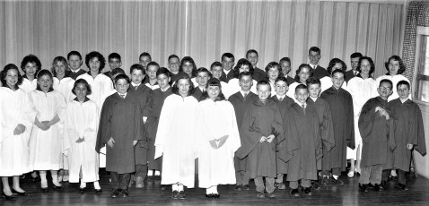 Church of the Ressurecton Confirmation 1961