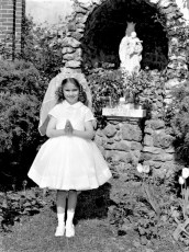 Church of the Resurrection 1st Communion Judy Bartolotta 1959