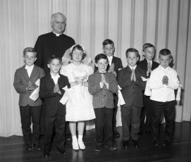 Church of the Resurrection 1st. Communion 1964