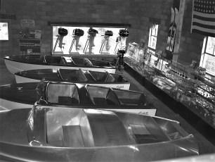 Bame's Marine  827 Union Hudson NY 1953