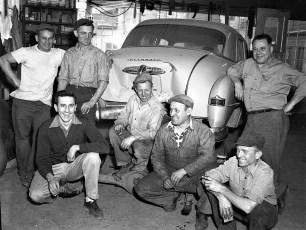Deno Garage Hudson 1952