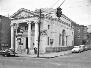 Hudson City Savings 100th Anniv. & dinner at St Charles 1950