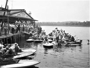 Hudson NY Boat Races 1951