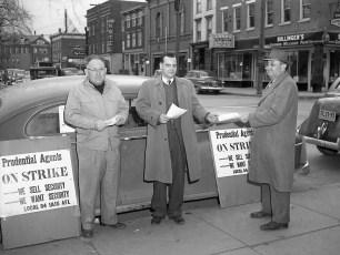 On Strike Ray Moore & Chrissy Wilson Hudson 1951