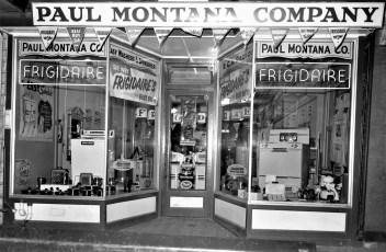 Paul Montana Company Hudson 1954