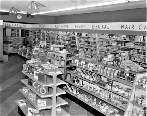 Westerman's Pharmacy 622 Warren St. Hudson 1954 (2)