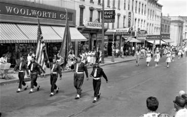 4th of July Parade Hudson 1957 (1)
