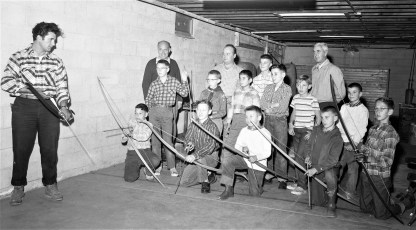 Boy Scouts & Four H at Hudson Fish & Game 1957 (1)