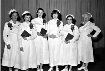 Columbia Memorial Hospital Graduate Nurses 1955