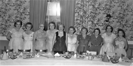Degree of Pocahontas dinner meeting at General Worth Hotel Hudson 1956