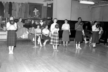 Elks Club Woman's Bowling League 1958