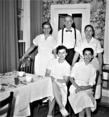 General Worth Hotel Staff Hudson 1956