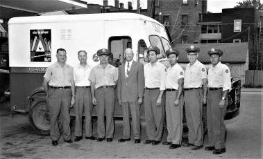 Hudson Post Office Safety Award Recipients 1957