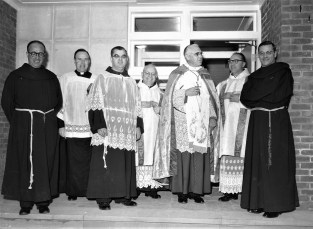 Mt. Carmel Church Opening of New Parish House Hudson 1955 (2)