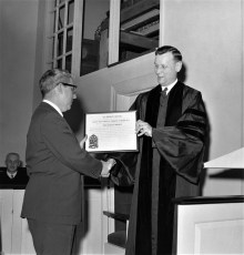 Opening of new Reformed Church Hudson 1957 (2)