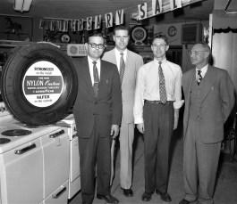 Smith's Tire Shop Anniversary Sale Hudson 1956 (1)
