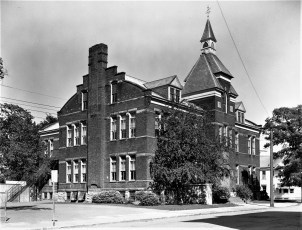 6th Street School State Street Hudson 1960