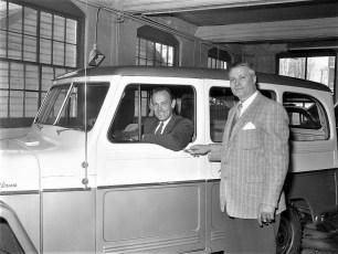 E. J.& R. Garage Jeep Agency Hudson 1960