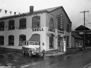 E. J. & R. Garage John Zlovneck Jeep Sales Hudson 1962