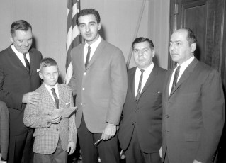 Hudson LL Banquet with Joe Pepitone 1964 (3)