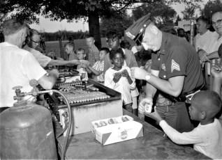 Hudson Police Dept. Youth Day 1964 (1)