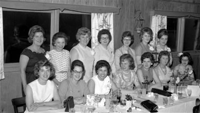 Hudson Woman's League Bowling Banquet 1964