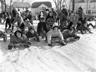 Hudson Youth Sleding Contest 1960 (2)
