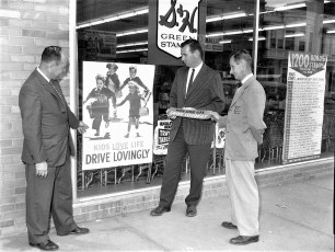 Jaycees Safe Driving Campaign Hudson 1961