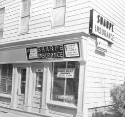 John Sharpe Insurance 410 Warren St. Hudson 1964