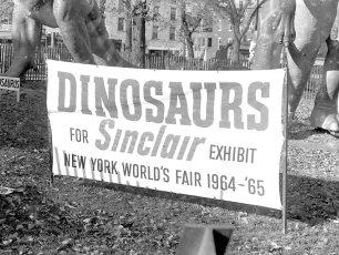Jonas Studio's NY Worlds Fair Dinosaurs in Hudson 1964 (1)