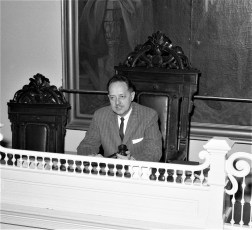 Judge Harold Liberman City Court Hudson 1964
