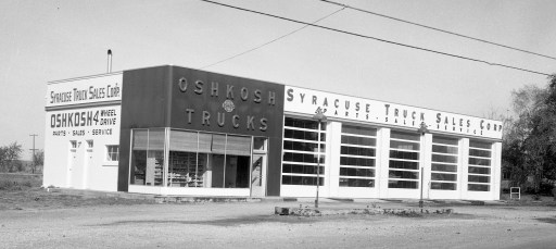 Len Cordato signage Syracuse Truck Sales Rt. 9G G'town 1963