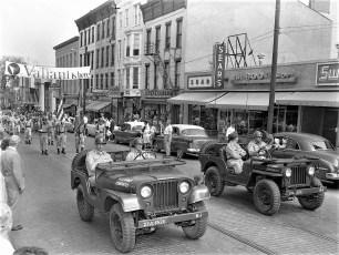 Memorial Day Parade Hudson 1960