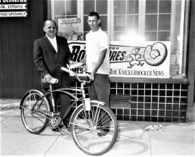 New York News Contest winner Charles Miller Hudson 1961