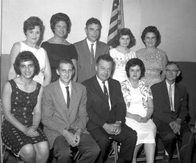 Pocketbook Factory Union Officials 1963