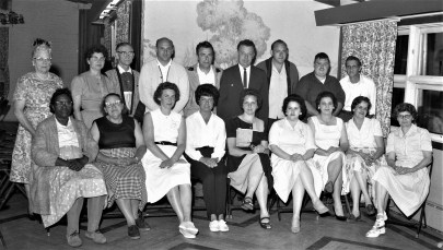 Pocketbook Union Local 24 meeting at General Worth Hotel Hudson 1964 (2)
