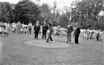 Elks Little League Parade & 1st Pitch Hudson 1968 (5)