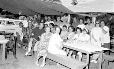 Hudson Boat Club group at bake 1967