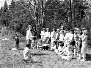 Hudson Girl Scout outting 1968