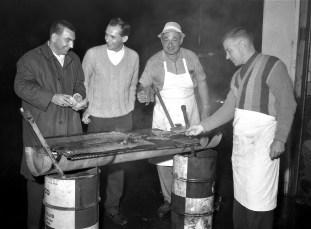 Jr. Chamber of Commerce Steak & Clam Bake Canape's Garage Hudson 1965 (3)