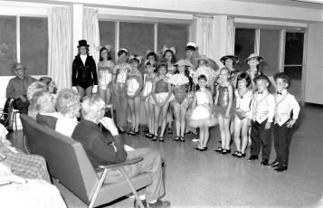 Mount Eden Nursing Home dance recital 1967