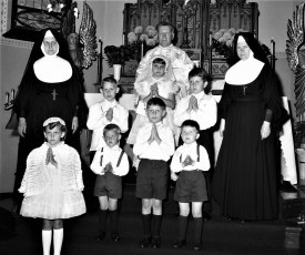 Sacred Heart Church 1st. Communion Hudson 1968