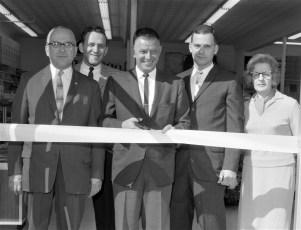 Steiner's Sport Center Grand Opening of new store Warren St.  Hudson 1965 (2)
