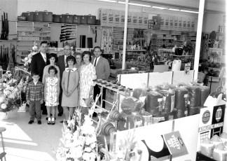 Steiner's Sport Center Grand Opening of new store Warren St.  Hudson 1965 (3)