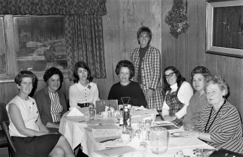 American Cancer Society Crusade Committee Hudson 1971