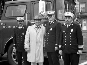 C H Evans Hose Co. No. 3 New Ladder Truck Hudson 1976 (2)