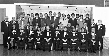Elks Club members Hudson 1977