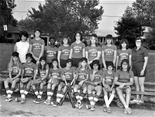 Girl's Softball League Teams 1975 (6)